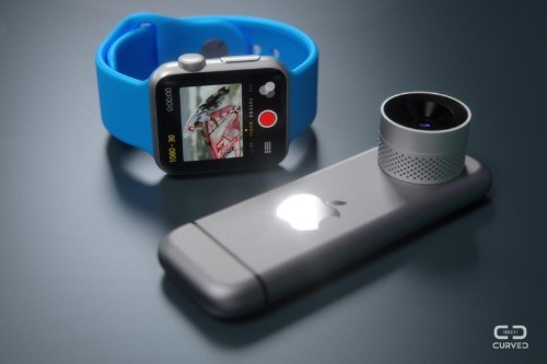 Apple would take a bite out of GoPro with this action cam concept