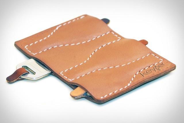 Keyper, A Lovely Leather Wallet For Keeping Keys