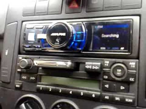 Old Car Audio Cassette Slot Turned Into Radical Slot-Loading iPod Dock! [Video]