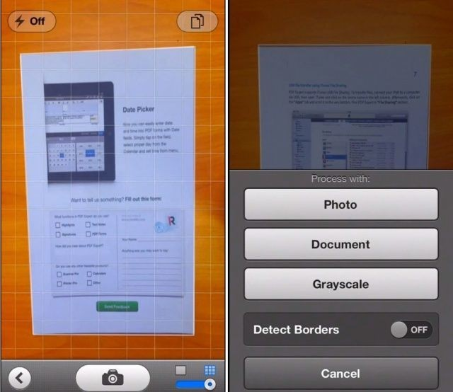 Scanner Pro From Readdle Now Detects Page Borders Automatically