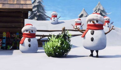 Fortnite update adds a Sneaky Snowman, kills Quadlauncher
