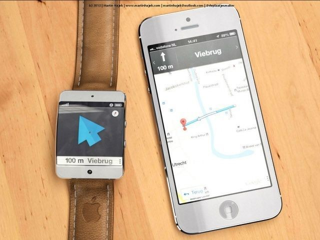 How You'll Use The iWatch With iOS Or Google Maps [Image]