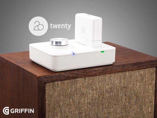 The Griffin Twenty: An AirPort Express Amp That Brings Your Wired Speakers Back To Life [Deals]