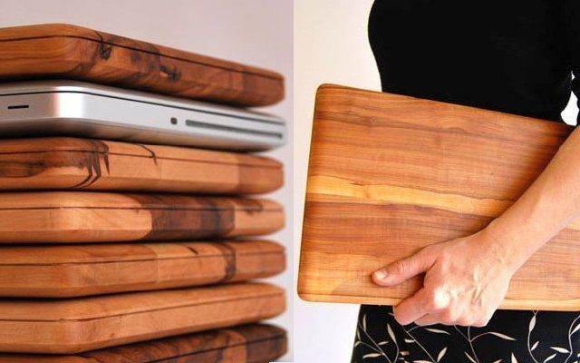 Chop your veggies like Jony Ive with this wooden MacBook Pro cutting board