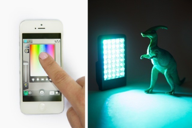 $180 iPhone LED Photography Lamp Has Some Very Clever Tricks