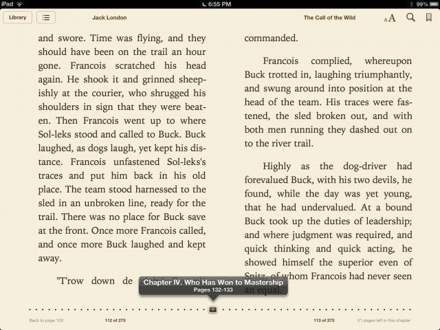 Slide On The Dotted Line To Riffle Your Way Through An iBook [iOS Tips]