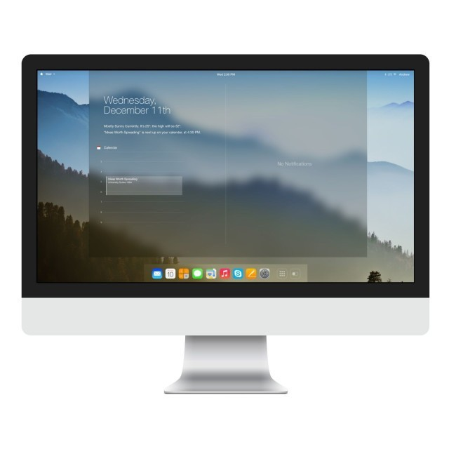 What OS X Could Look Like If It Gets Jony's iOS 7 Treatment [Concept]