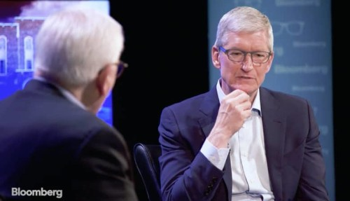 Tim Cook gets lucrative reward for his success as Apple CEO
