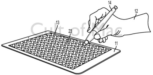 Apple invents texture-sensing stylus for future iPads