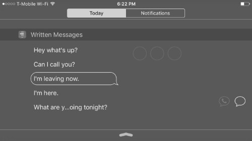 Handy new app turns Notification Center into messaging machine