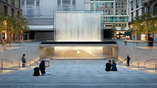 Apple's stunning new Milan store is an elemental masterpiece   Cult of Mac