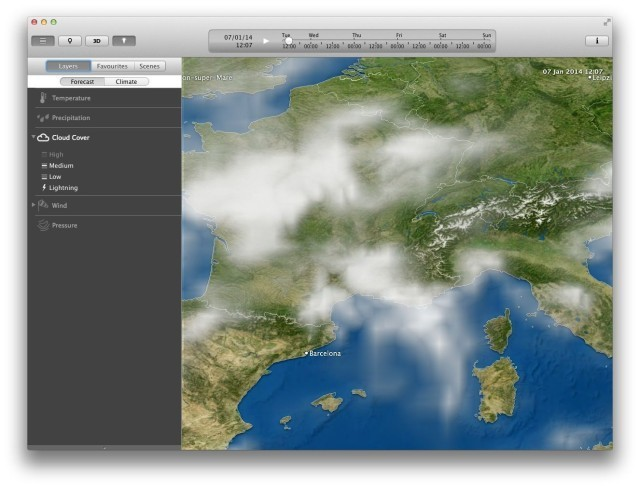 MeteoEarth, The Amazing Global Weather App, Now On Mac