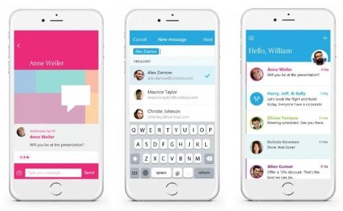 Microsoft Send is like WhatsApp for work emails