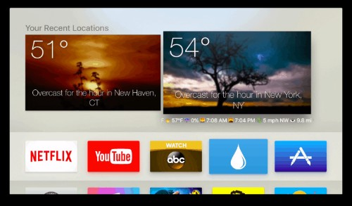 Apple TV app lets you see the weather without opening it [Reviews]