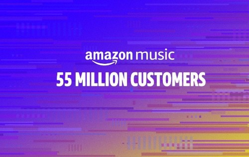Amazon Music gains on Apple Music with 55 million customers
