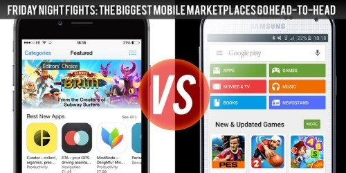 App Store vs. Google Play: What's hot and what's not?