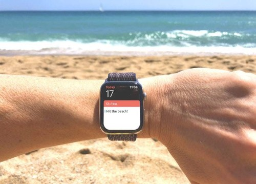 Get in shape for your beach vacay with Apple Watch