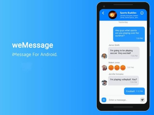 Teenage developer finally brings iMessage to Android