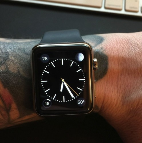 Apple admits the Watch doesn't work well with tattoos