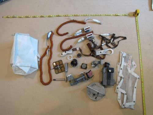 Neil Armstrong's 'bunch of trash' is space history treasure