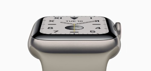 Apple Watch Series 5's screen never switches off