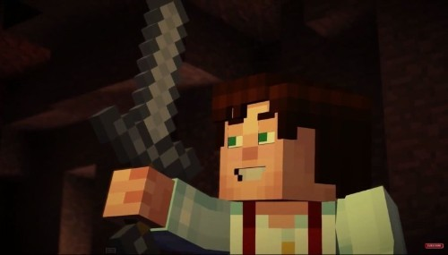Minecraft: Story Mode stars two Goonies and a Pee-Wee
