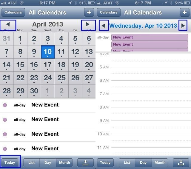 Navigate Your Calendar Even Faster On Your iPhone [iOS Tips]