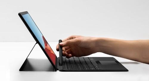 Microsoft's sleek Surface Pro X hits iPad Pro where it hurts