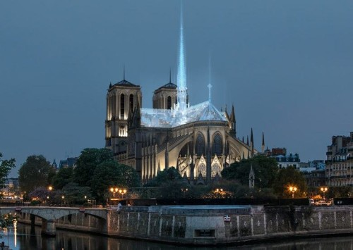 Notre Dame could get glass roof from Apple Store architect