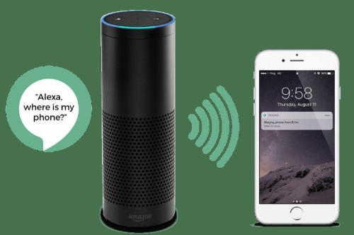 Amazon Alexa can now find your phone with TrackR