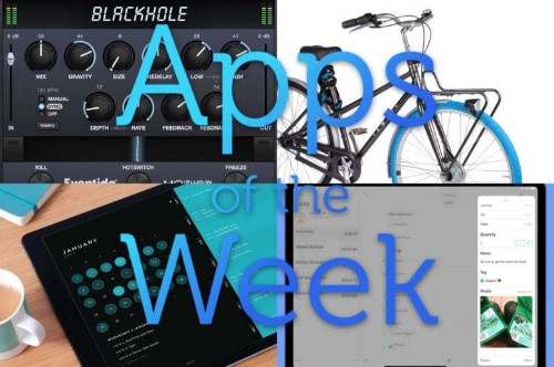 Check out this week's best music, calendar, list-making, and bike-renting apps