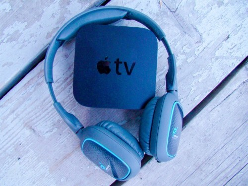 Don't wake the baby! Use Bluetooth headphones with Apple TV