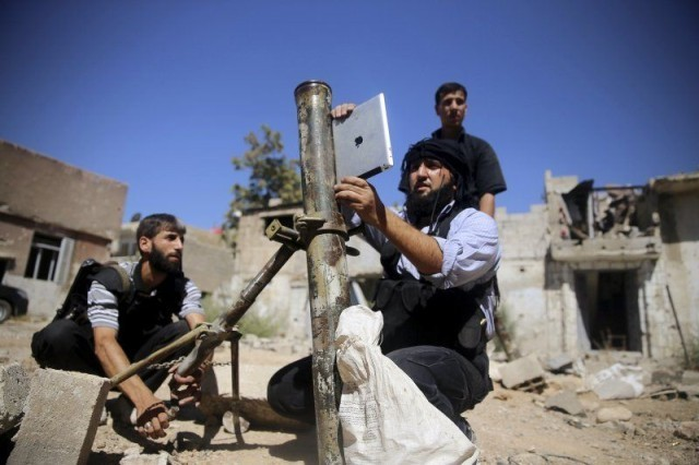Syrian Rebels Are Using The iPad To Aim Mortars At Assad's Army