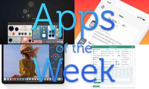 The best guitar, photo, podcast and audio apps you'll see this week