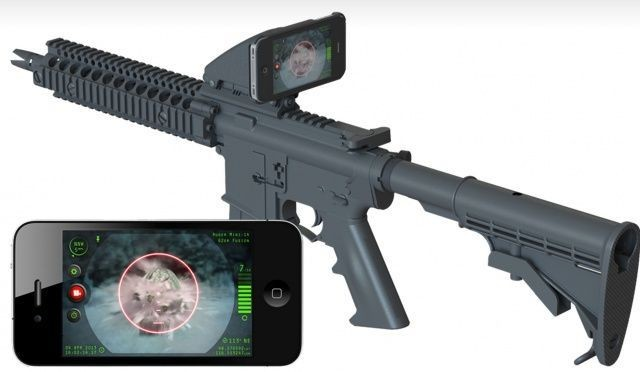 Inteliscope Turns Your iPhone Into The World's Most Useful Rifle Scope