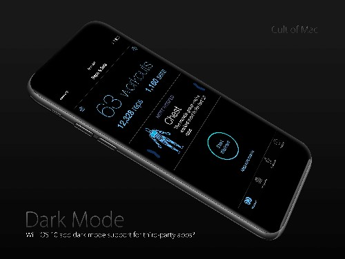 This 'dark mode' iPhone 7 might make Darth Vader squee