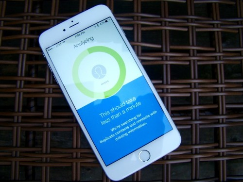 Duplicate-zapping app will shape up your contacts list