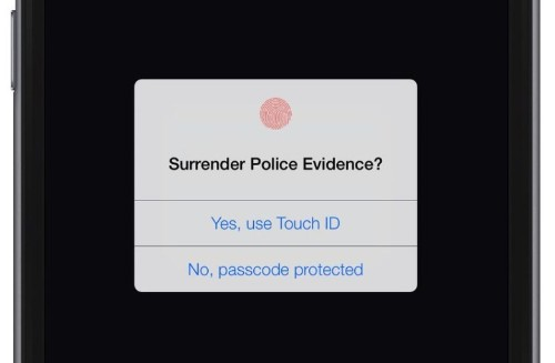 Cops can force you to use Touch ID, but not your passcode