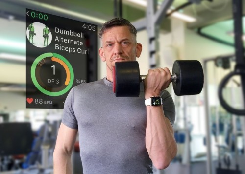 How to get ripped with Apple Watch weightlifting apps
