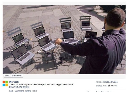 MacBook orchestra steals the spotlight in Microsoft's latest ad