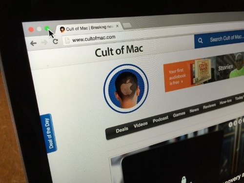 How to avoid going full screen in OS X Yosemite