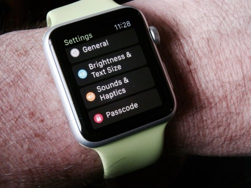 Customize your Apple Watch settings