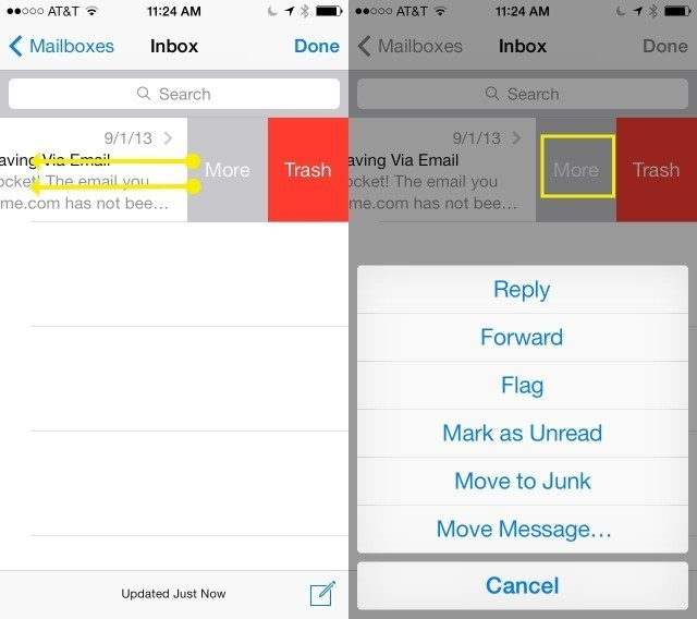 Don't Just Delete – Do More With Your Email In iOS 7 [iOS Tips]