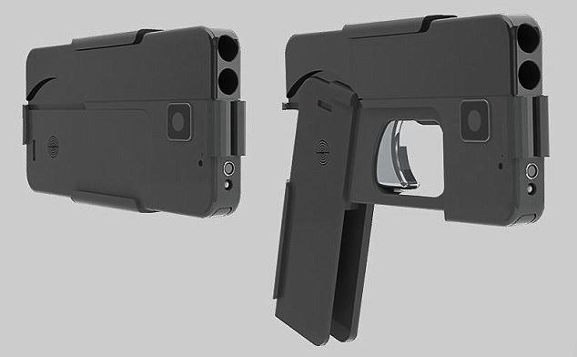 U.S. senator calls for ban on gun that looks like an iPhone