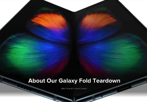 Samsung requests iFixit pull its Galaxy Fold teardown