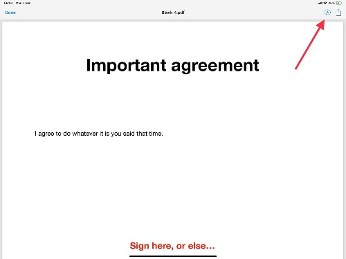 How to sign PDFs on your iPhone or iPad