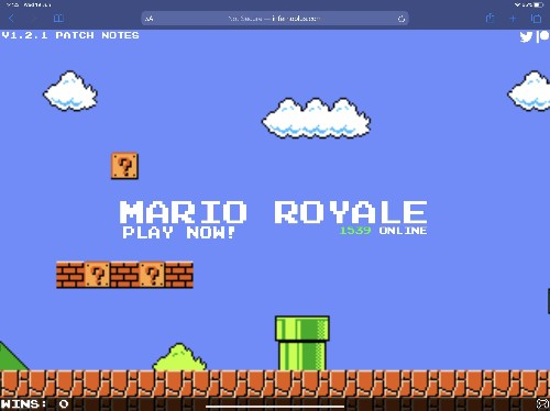 Fan creates surprisingly brilliant Super Mario battle royale