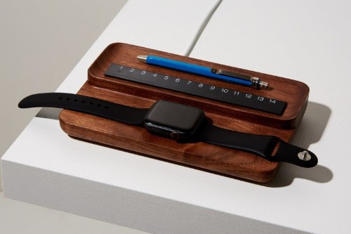 Wonderful wooden stands go great with Apple Watch 5