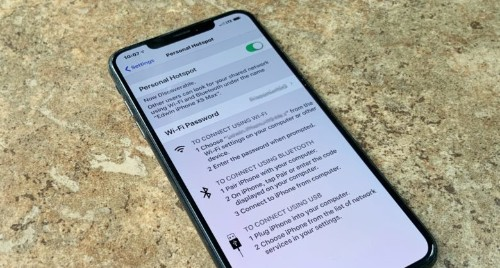 iPhone's Wi-Fi hotspot gets a big upgrade in iOS 13