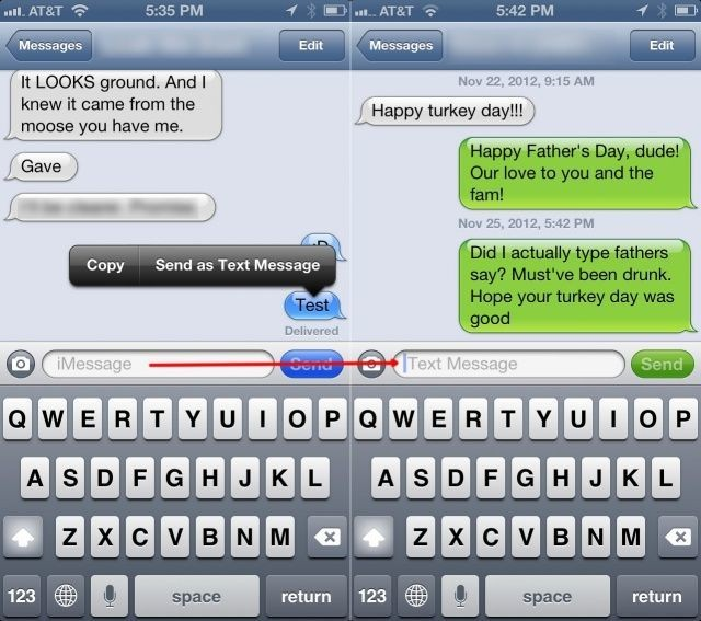 Mastering iMessages On Your iPhone: Send Them As A Regular Text Message [iOS Tips]
